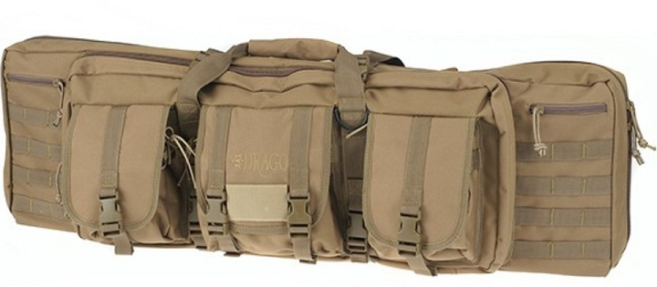 "Drago Gear ModGear Double Rifle Tactical Case 36"" Tan"